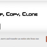 Duplicate, clone, backup, move and transfer an entire site from one location to another.