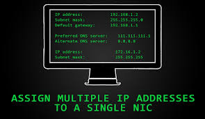 Create Multiple IP Addresses to One Single Network Interface