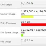 high load on server