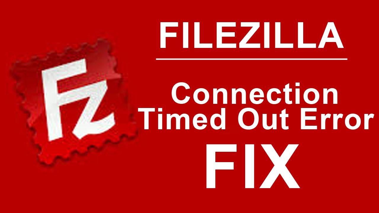 fix filezilla error