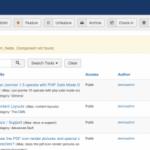 how to fix error component not found in joomla