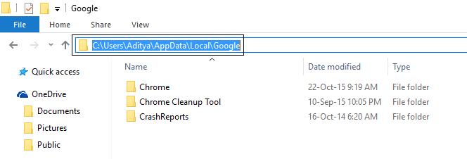 c-users-appdata-local-google-delete-all