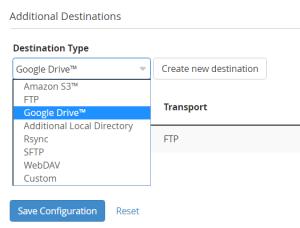Google-Drive-WHM-Backup